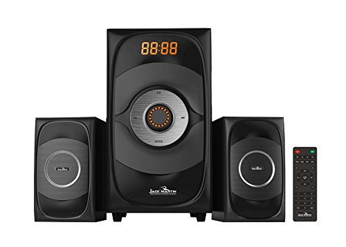 Jack Martin 668 2.1 Bluetooth/SD Card Multimedia Speaker System with Built in FM