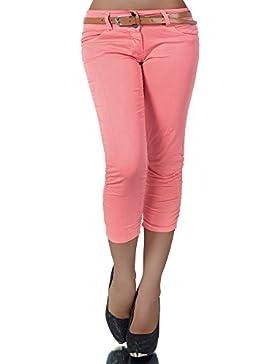 Diva-Jeans - Pantalón - Capri - Básico - para Mujer