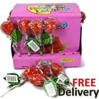 Rose Shape Lollipop Candy - Free Shipping (Pack of 12)