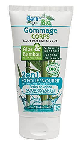 Gommage Corps Bio - Aloe et Bambou - Purifiant - 150ml