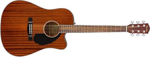 Fender CD-60SCE Acoustic-Electric Guitar (Mahagony)
