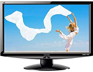Viewsonic 24-inch Widescreen LCD Monitor with Speakers, 2ms Response Time, 20,000:1 Contrast Ratio