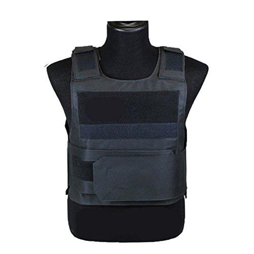 Rabusion Leichte Rüstung Platte Taktische SWAT Weste Schutzkleidung für die Polizei (Swat Kostüm Herren)
