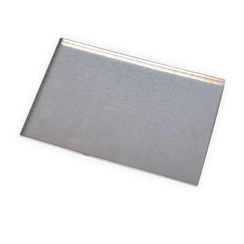 Metallschmelzform für Schmelzgranulat eckig 140x195 mm
