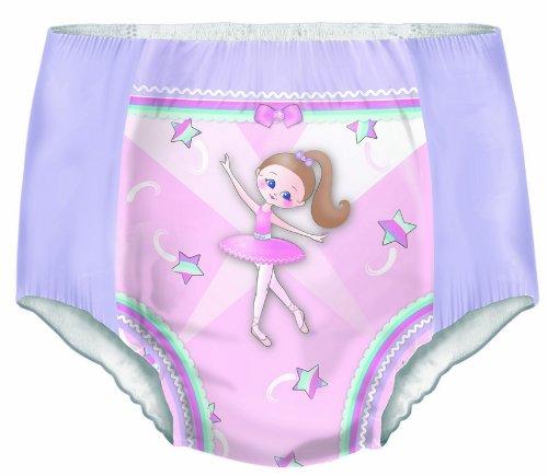 Dry Nites Pyjama Unterhosen Girl 4-7 Jahre, 3er Pack (3 x 10 Stück) - 3