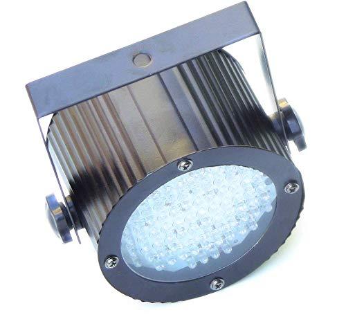 Cablematic - Foco PAR36 de 86 LED de 5mm negro