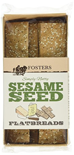 fosters-sesame-seed-flatbreads-100-g-pack-of-11