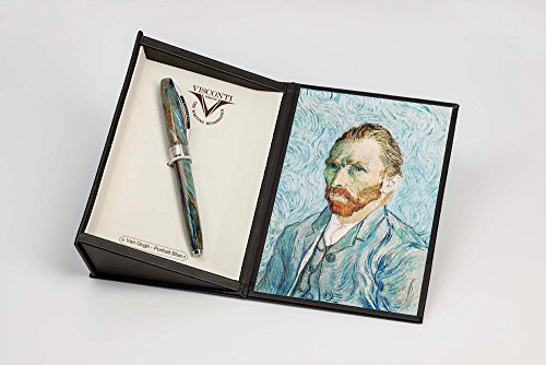 Visconti Van Gogh Portrait In Blue Rollerball Pen