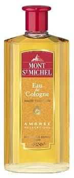 Mont St Michel - Eau de Cologne - Ambrée Authentique - Flacon 500 ml