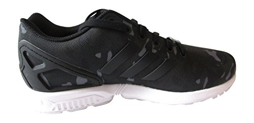 adidas Zx Flux, Baskets mode mixte adulte CBLACK/CBLACK/FTWWHT B24388