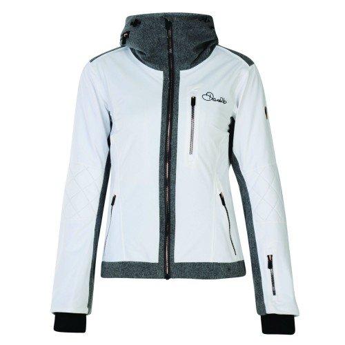 Dare 2b Damen Schatten Wasserdicht Isolierte Jacke Einheitsgröße weiß
