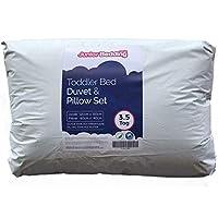 Anti Allergy - 3.5 Tog 200GSM 120cm x 150cm Junior/Toddler Cot Bed Duvet and Pillow Set