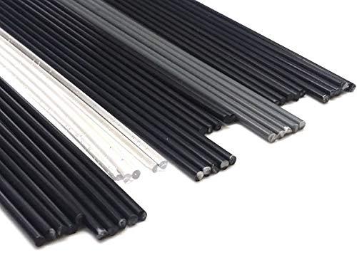 Preisvergleich Produktbild Kunststoffschweißdraht Test Sortiment A - 8 Sorten Kunststoff - ABS, PA, PC, PP, PS, PE, PP/EPDM, PVC-U