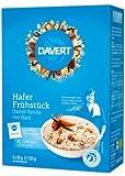 Davert Bio Hafer Frühstück Dattel-Vanille, 5 x 65 g