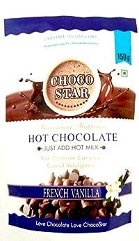 Chocostar Vanilla Hot Chocolate Drink Powder 150g