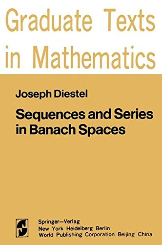 Sequences and Series in Banach Spaces PDF Books