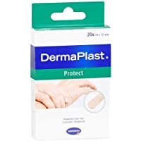DERMAPLAST PROTECT Pflasterstrips 19x72 mm 20 St Pflaster preisvergleich bei billige-tabletten.eu