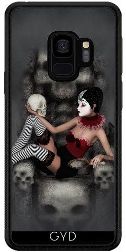 DesignedByIndependentArtists SilikonHülle für Samsung Galaxy S9 (SM-G960) - Harlekin Horror by Illu-Pic.-A.T.Art
