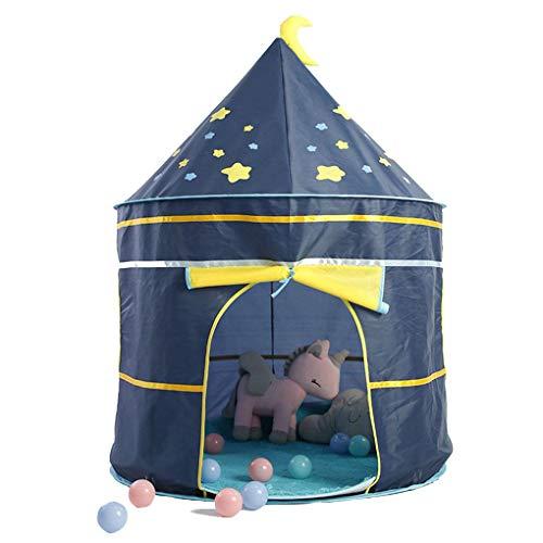 Fornateu Bewegliches Karikatur-Kinder-Zelt Startseite Zelt Schloss Baby Kinder Indoor Outdoor Play Game-Haus-Geburtstags-Geschenk