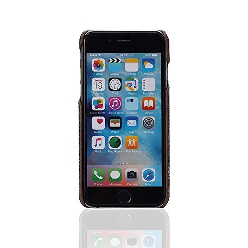 """iPhone 6 / 6s Hülle, Alfort 2 in 1 Handyhülle Schutzhülle Hart Acryl Schrubben Case Cover Telefon Kasten Vollschutz Fashion Design Dual Use für Apple iPhone 6 / 6s 4.7"""" Smartphone mit Tarnung ( Grün ) Schwarz"""