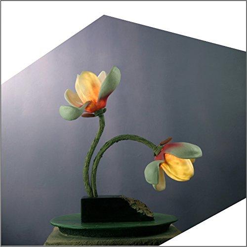 Nautische Outdoor-leuchten (SFHSfjkgh Kreative Magnolia Führte Dekorative Laterne Wohnzimmer Leuchte Lampe Nachtlicht Retro - Studie Schlafzimmer Mit Harz - Lampe42 * 18 * 42Cm)