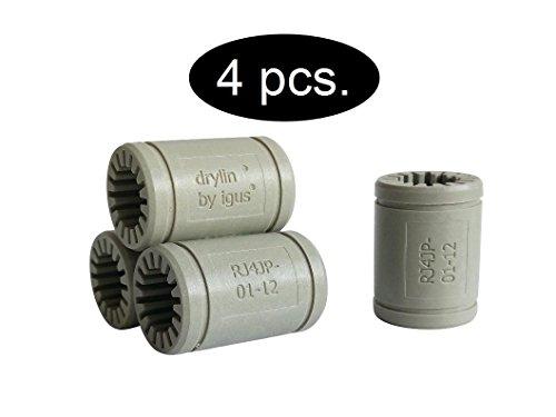 Igus ® Gleitlager 12mm - DryLin ® R - RJ4JP 01-12 (4 Stück)