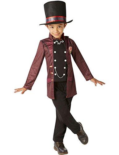 Willy Wonka - Charlie e la Chocolate Factory- bambini Costume - Small - 104 centimetri - Età 3-4