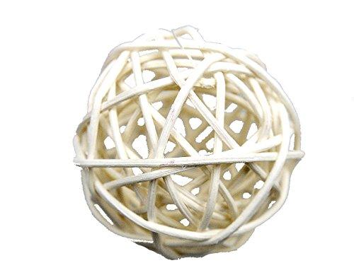 Steingaesser 02226 03 0002 - confezione comprensiva di 9 palline in vimini, effetto sbiadito