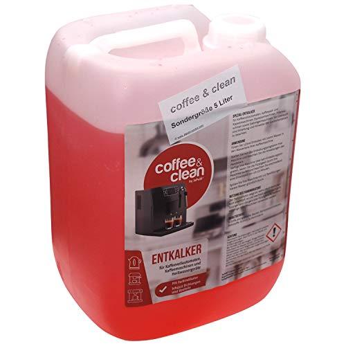 JaPeBi 5L Universal-Flüssig-Entkalker Farbindikator Korrosionsschutz für alle Kaffeeautomaten...