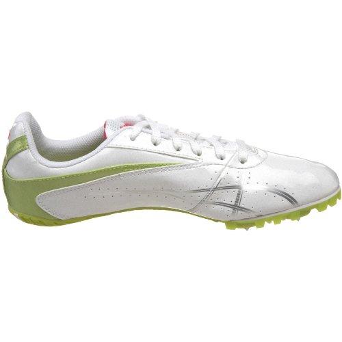 Asics , Chaussures de running pour fille Blanc - blanc