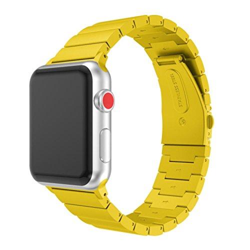 Correas apple watch 3, Magiyard Pulsera de acero inoxidable Corres apple watch...