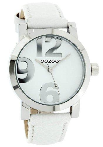 Oozoo JR190-Damen-Armbanduhr, Lederarmband