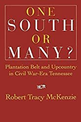 [(One South or Many? : Plantation Belt and Upcountry in Civil War-Era Tennessee)] [By (author) Robert Tracy McKenzie] published on (November, 2002)