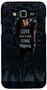 Printvisa Love Global Warming Case Cover for Samsung Galaxy Grand 3 (2D-GR3-D7851)