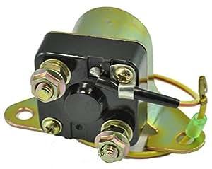 Starter Relay Solenoid for Suzuki 1977-1985 ( GS250, GS300, GS400, GS450, GS550, GS650, GS750, GS850, GS1000, GS1100 ) by RMSTATOR