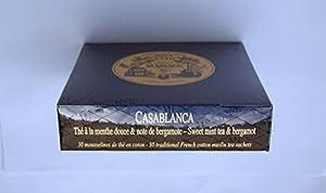 Mariage Frères - CASABLANCA - Boîte de 30 sachets mousseline de thé