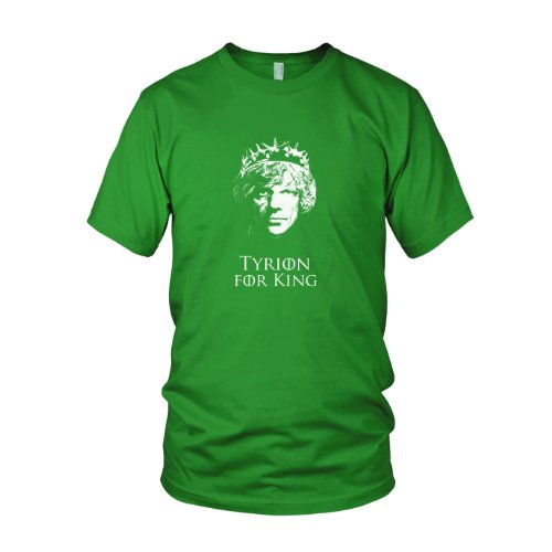 GoT: Tyrion for King - Herren T-Shirt Grün