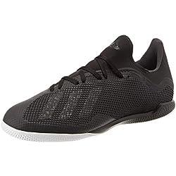 Adidas X Tango 18.3 in, Scarpe da Calcetto Indoor Uomo, Nero Negbás/Ftwbla 000, 42 2/3 EU