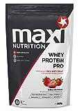 MaxiNutrition Whey Protein Pro Erdbeere - Eiweißpulver für den Muskelaufbau nach dem Training - 1 x 1020 g Packung Protein Shake mit Erdbeer Geschmack
