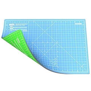 ANSIO 93998 Doppelseitige Selbstheilung 5 Schichten Schneidematte Imperial / Metric - türkis/grün