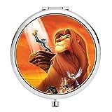 Disney Collection Miroir de Maquillage Compact Circulaire Double Miroir Disney HD Roi...
