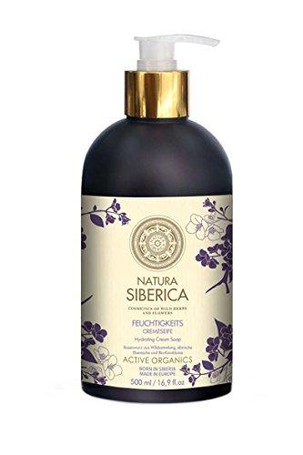 Natura Siberica Feuchtigkeits-Cremeseife, 2er Pack (2 x 500 ml)