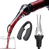 Aérateur de Vin Bec Verseur, Aérateur de Vin Decanter Pic Vin Bec Verseur Aération Bec Verseur pour vins Rouges et Blancs