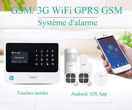 Remarquable Alarme maison sans fil GSM performant anti intrusion comment choisir ? UK-51