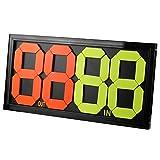 Scheda di sostituzione manuale portatile di calcio Display laterale doppio da 11,4 pollici × 11,8 pollici OUT & IN, 4 cifre