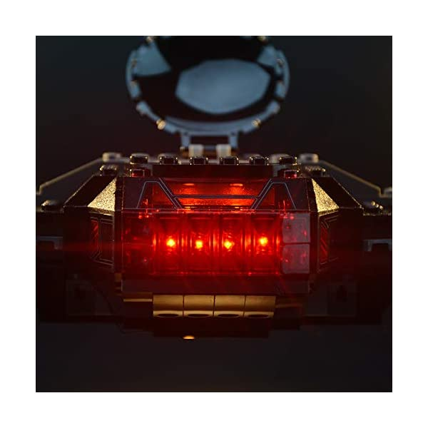 LIGHTAILING Set di Luci per (Star Wars Kylo Ren's Tie Fighter) Modello da Costruire - Kit Luce LED Compatibile con Lego… 4 spesavip