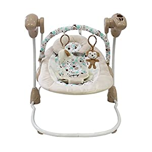 Automatic Baby Swing with Vibration/Music Function/Timer