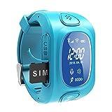 Smart Kid Bracelet de Montre SOS Appel GPRS WiFi Locator Tracker Bleu - Best Reviews Guide