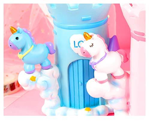 Nice'Wohnhalle Stifthalter Korea kleine frische Mode kreative niedlichen Stifthalter multifunktionale Student Kinder Aufbewahrungsbox Mädchen Herz Desktop Ornamente (Color : Blue)