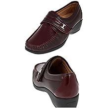 Chaussures MOCASSINS BORDEAUX - AEROSOFT/ VU A LA TV (37)